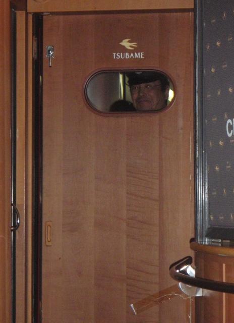 リレ-つばめ23のドア