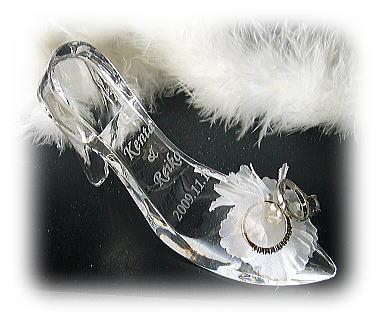 ガラスの靴リングピロー