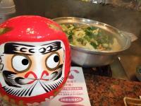 モツ鍋とカツオ