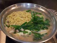 モツ鍋inちゃんぽん麺