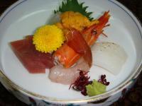 人吉旅館 夕食3 お刺身