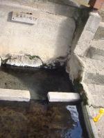 満願寺温泉 食器洗い場