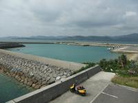 細崎 目の前は西表島です