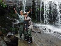 サンガラの滝 ポン太ロビンソン