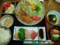 民宿カンピラ荘 夕食