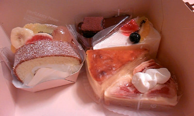 ケーキ プチアール2009-10