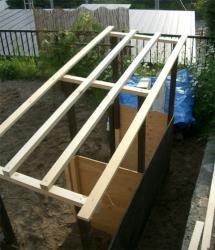 堆肥箱屋根基礎