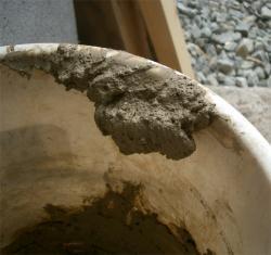 砂と粘土をねりねり