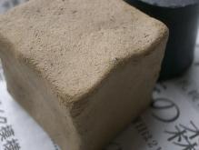 砂混じり粘土テストピースアップ