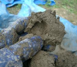 粘土の練り加減