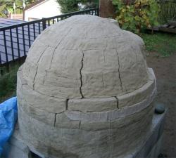 乾燥後の窯外側2