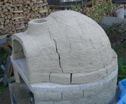 乾燥後の窯外側1