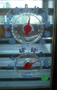 今朝の外気温