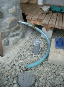 排水管の当初状態