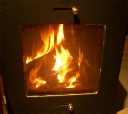 順調に燃焼