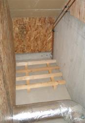 階段したスペース