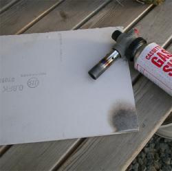 材料の耐火性能確認