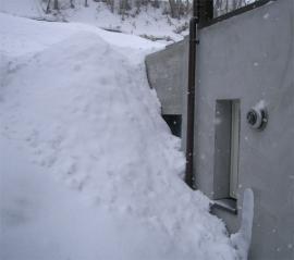 冬期のP下北側-外側から