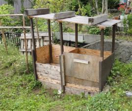 堆肥箱 2010-7