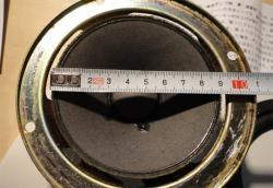 コーン紙の直径