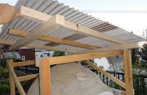 屋根は可動式