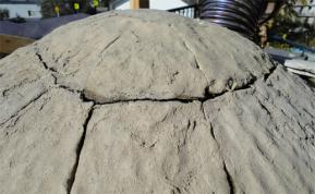 粘土から水分