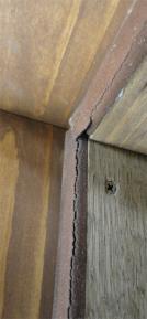 ドア密閉材の劣化状況