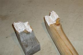 木工用ボンドぬりぬり