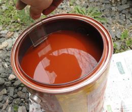 塗料の使用量