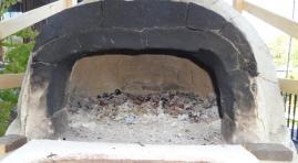 窯の中は煤切れ状態