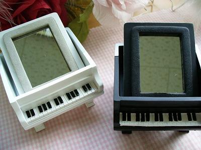 ピアノ小物入れ(鏡面)