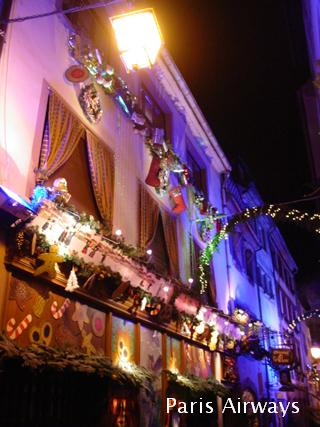 ストラスブール クリスマス イルミネーション