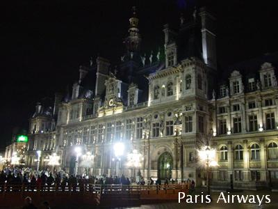 パリ市役所 Hotel de Ville