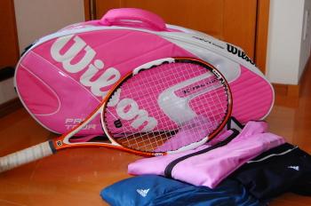 テニスにハマってます♪