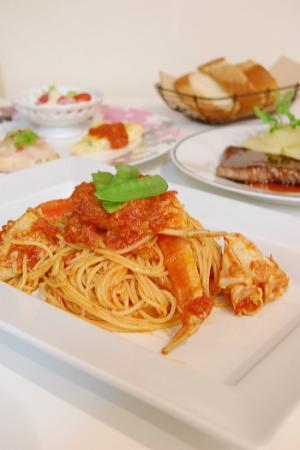 パスタのコース料理