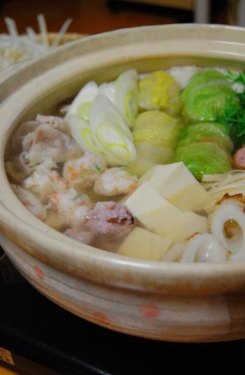 海老団子・魚団子・ロール白菜noお鍋