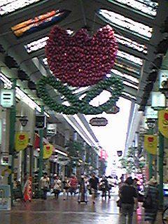 110828岡山の商店街