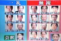鳩山内閣「国旗に一礼か無視」