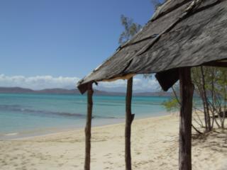 テニア島の風景。