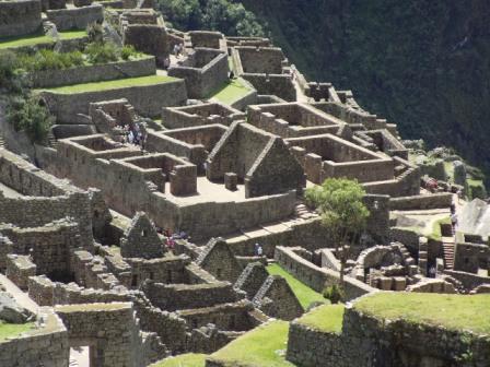 コンドルの神殿付近