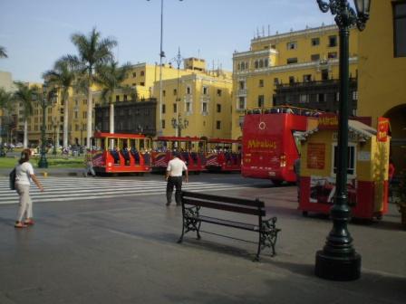 アルマス広場のそばの建物。