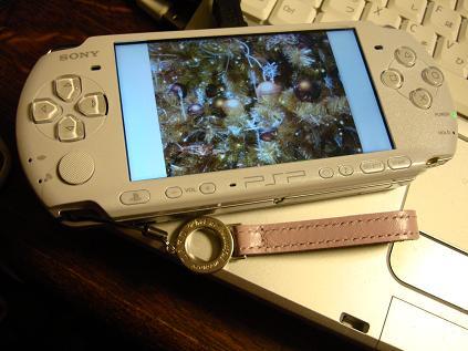 PSPへ画像。