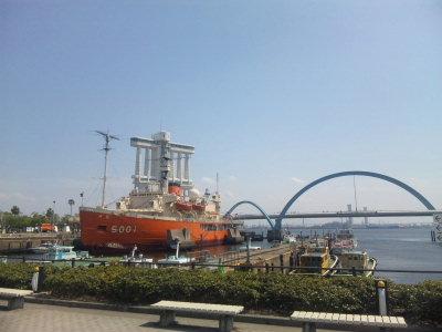 名古屋港。