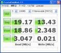 Verbatim SDHC16GRVB CrystalDiskMark