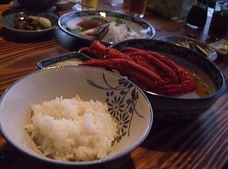 送陽邸 夕食2