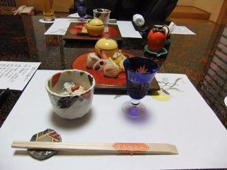 みちのく庵 夕食 (1)