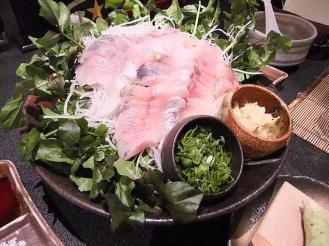船山温泉 夕食 (5)