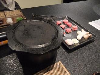 船山温泉 夕食 (8)