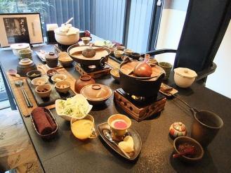 船山温泉 朝食 (1)