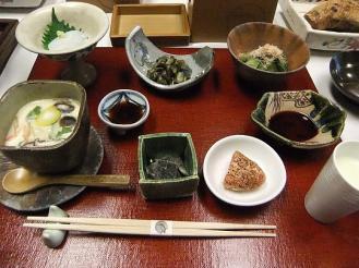 かわせみ 朝食 (4)